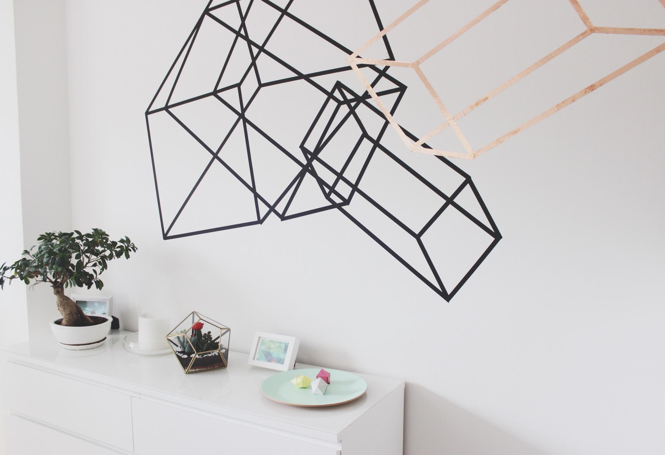 Geometrische formen an die wand malen haus design m bel - Streifen an die wand malen ...